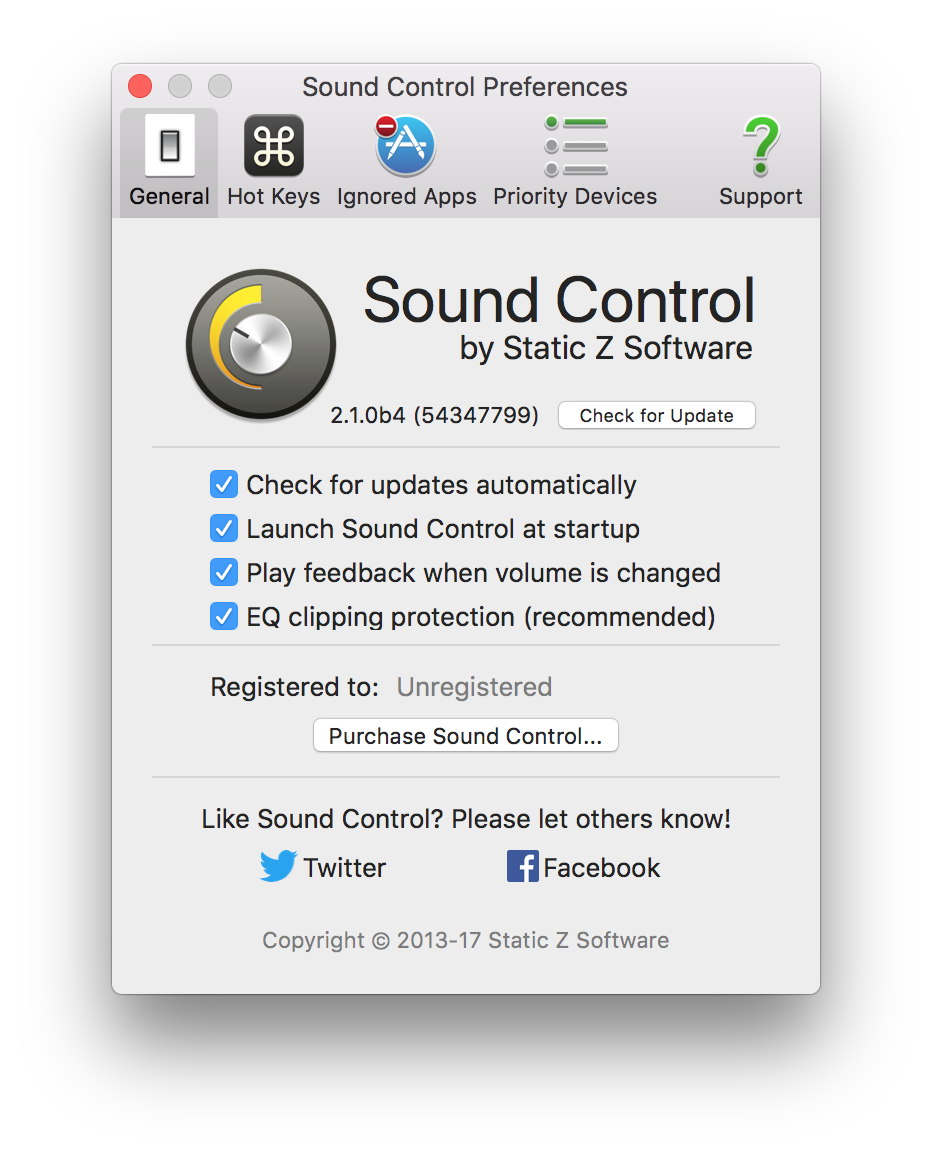 Why Is The Volume Lowered When I Adjust Eq Static Z Software Controlpng Sound Controls General Preferences Generalprefs